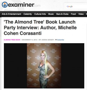 The Almond Tree Interview with Michelle Cohen Corasanti - Examiner.com