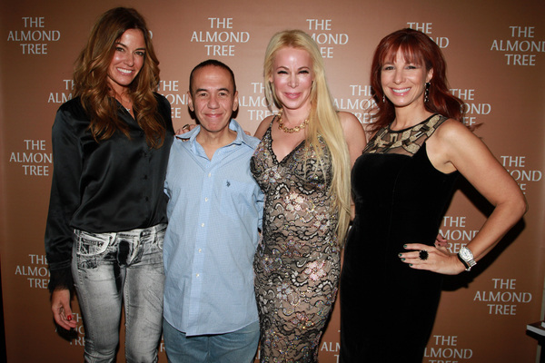 The Almond Tree Book Launch PartKelly Bensimon, Gilbert Gottfried, Michelle Cohen Corasanti, Jill Zarin Cohen Corasanti
