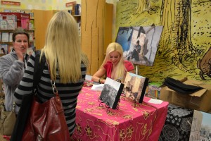 Almond Tree Book signing October 2012