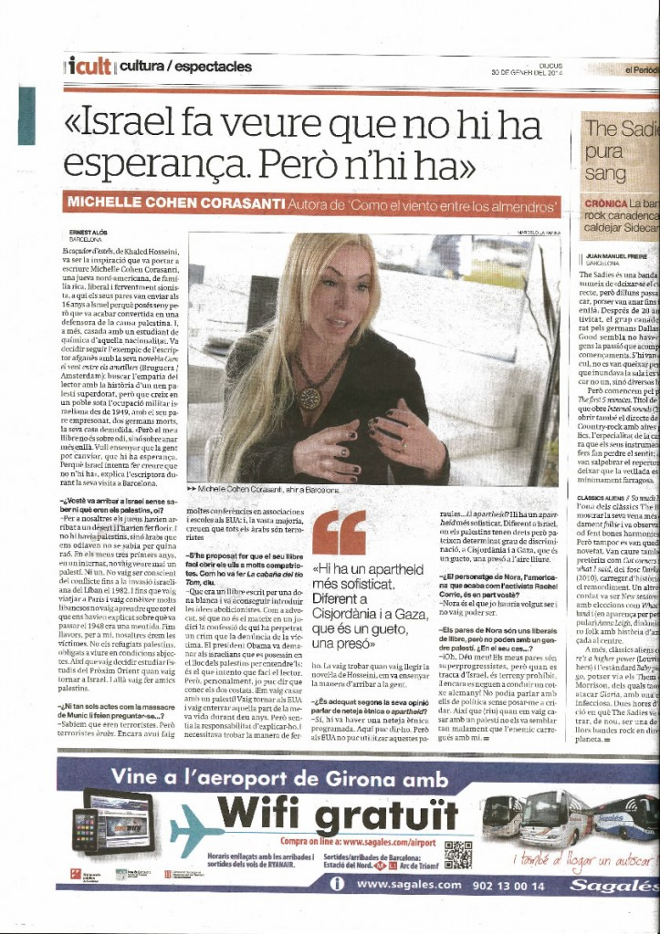 Interview with the Spanish Newspaper icult | The Almond Tree